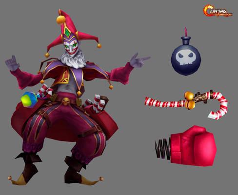 Evill Clown(Contra)