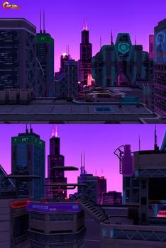Contra Return: Uptown Holographic Era I