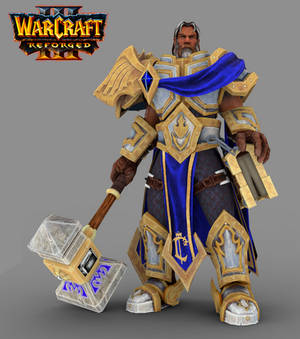 Warcraft III Uther the Lightbringer