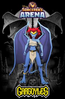 Disney Sorcerer's Arena: Demona