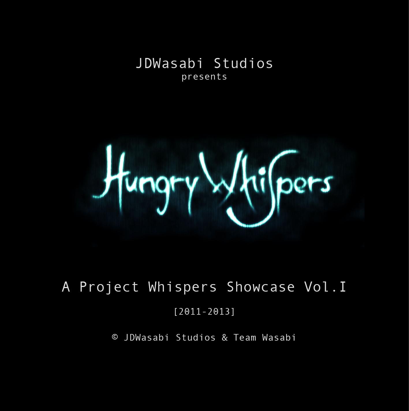 Project Whispers Digital Artbook Vol.1 by JDWasabi