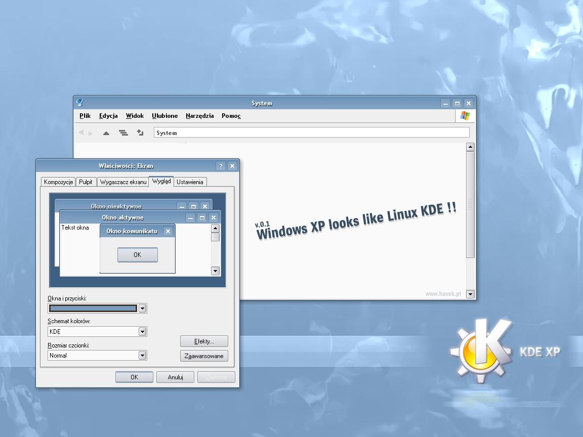 KDE XP