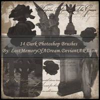 Grave Whispers Brushes by LostMemoryOfADream