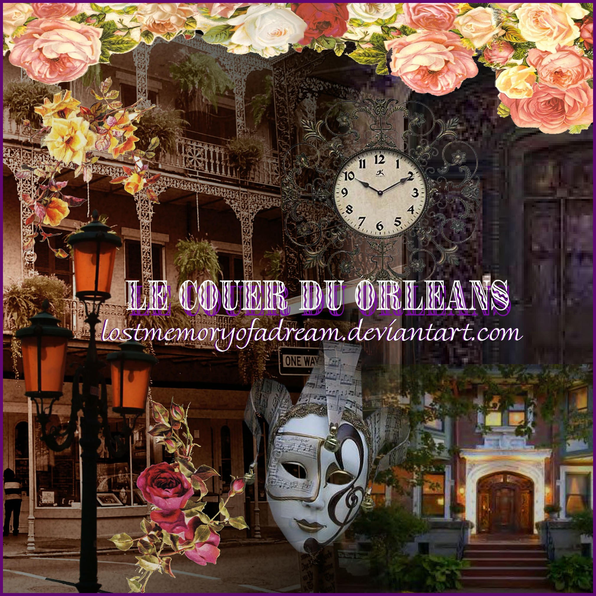 Le Couer du Orleans Brushes by LostMemoryOfADream