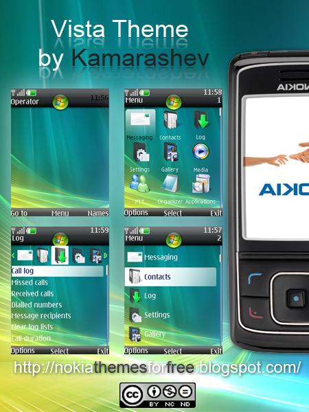 Windows Vista Theme for Nokia by Kamarashev on DeviantArt