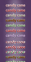 Candy Cane Font Styles