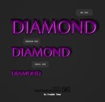 3D Diamond Style by Kamarashev by Kamarashev