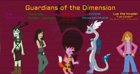 Guardians of the Dimension