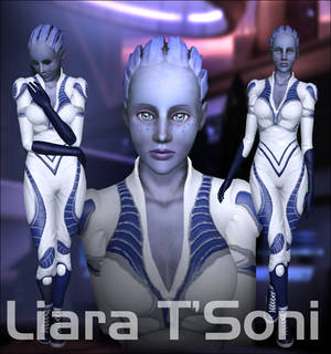 Liara T'Soni - For Sims 3