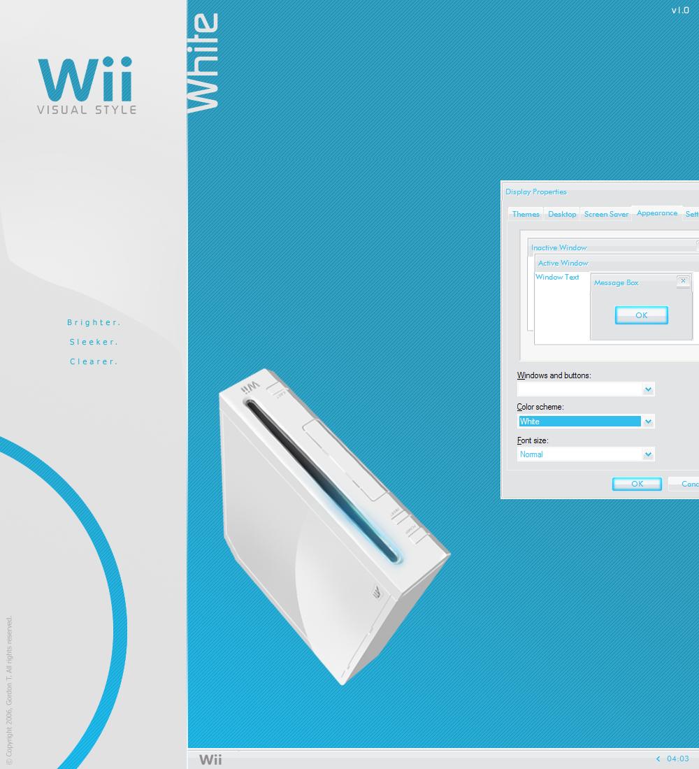 Wii White VS