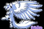 F2U winged wolf base
