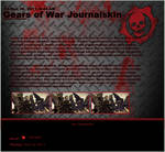 Gears of War Journalskin