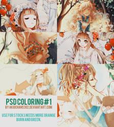 Psd Coloring#1 By Akiochan5302 by akiochan5302