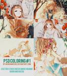 Psd Coloring#1 By Akiochan5302