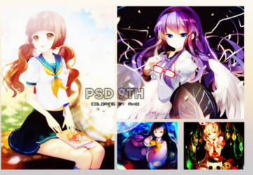 Psd Coloring#9 By Akiochan5302 by akiochan5302