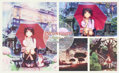 Psd Coloring#11 By Akiochan5302 by akiochan5302