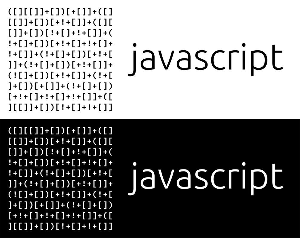 javascript mug by CamiloMM