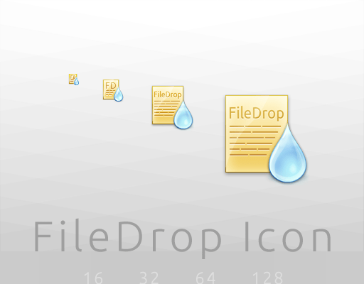 FileDrop Icon by CamiloMM