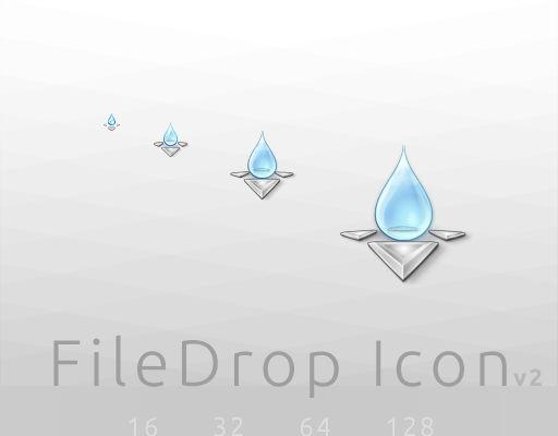 FileDrop Icon v2
