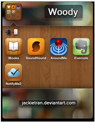 Woody Folder iOS 4 by JackieTran