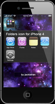 Folder icon iOS 4  for iPhone