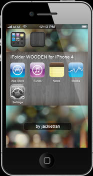 iFolder BLACK for iPhone 4