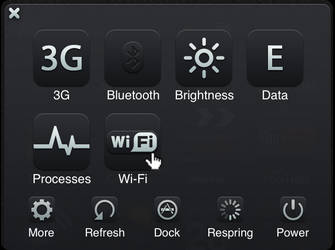 SBSettings Black'UPS HD