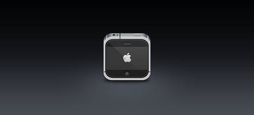SciPhone - iPhone Mini PSD by JackieTran