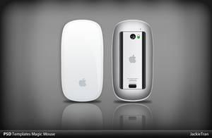 Magic Mouse PSD Templates by JackieTran