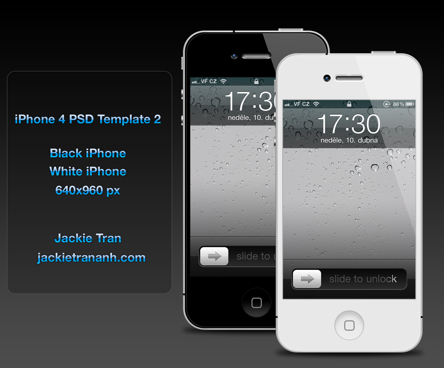 iPhone 4 Template v.2 by JackieTran on DeviantArtIphone 4 Template