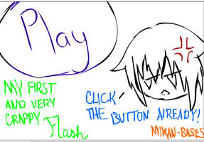 My first crappy flash by Mikan-bases