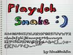 Playdoh Snake