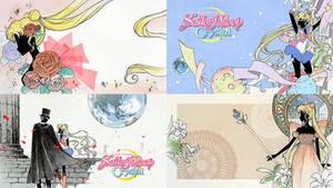 Sailor Moon Crystal Wallpapers by TsukineSara