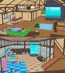 [MMD] Kukui's House *DL*