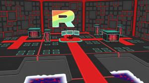 [MMD] Team Rainbow Rocket HQ by New3DsSuchti