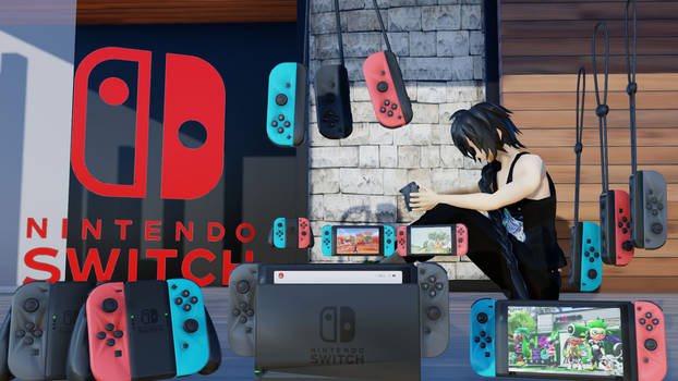 Nintendo Switch DL (For MMD)