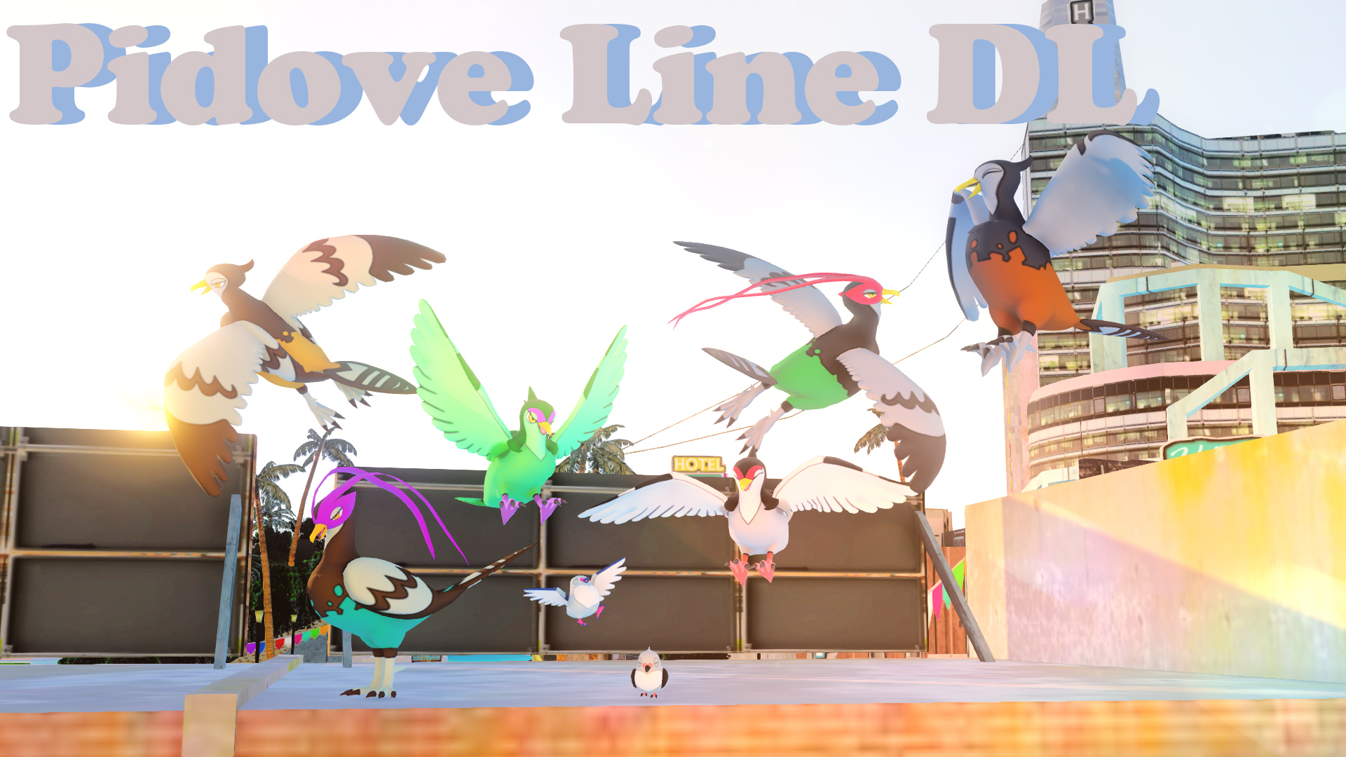 Pidove line DL by Tsuna178