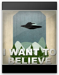 i want to believe (animation) by Lizeeeee