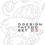 ddesign tattoo set 02 0f 07 by ddesign07