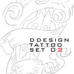 ddesign tattoo set 02 0f 07 by ddesign07