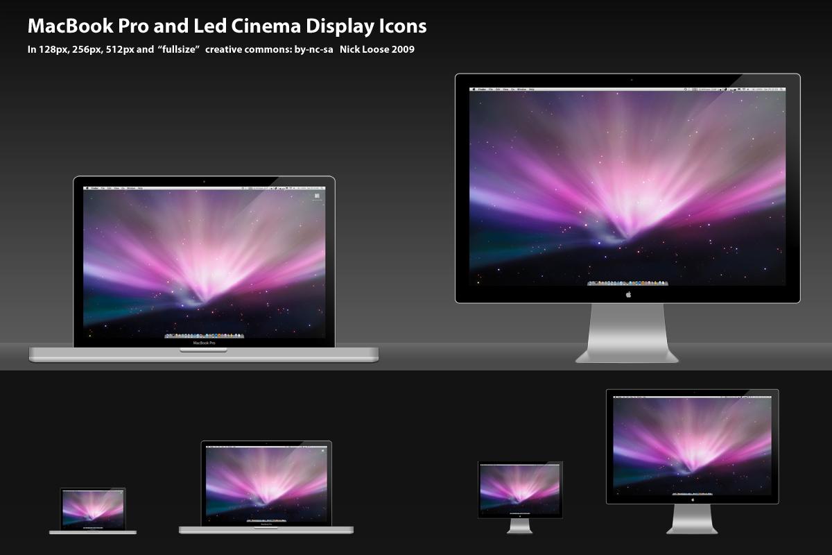 MacBook Pro Unibody Icon