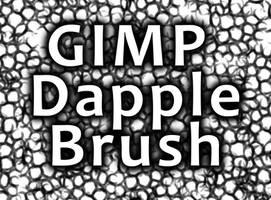 GIMP Dapple Brush by Vizseryn