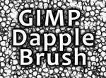 GIMP Dapple Brush