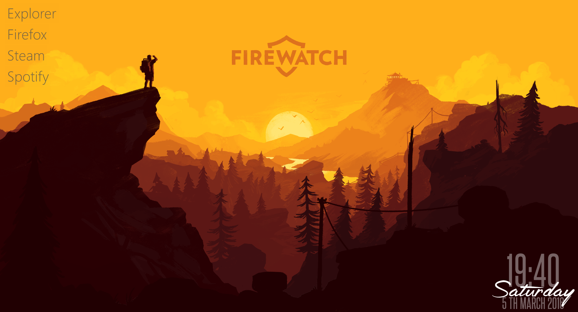 Firewatch Parallax Theme 1.5.0
