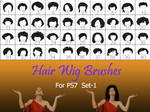 Hair_Wigs_Brushes_SET_1
