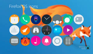 Firefox OS icons.