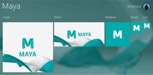 Autodesk Maya tiles for TileCreator