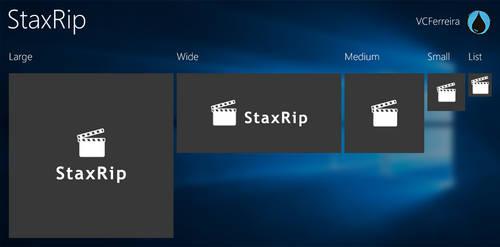 StaxRip tiles for TileCreator