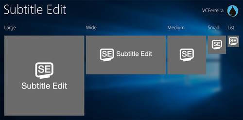 Subtitle Edit tiles for TileCreator