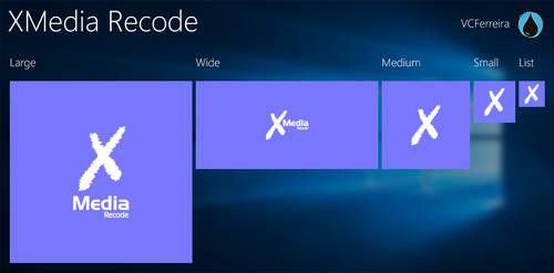 XMedia Recode tiles for TileCreator